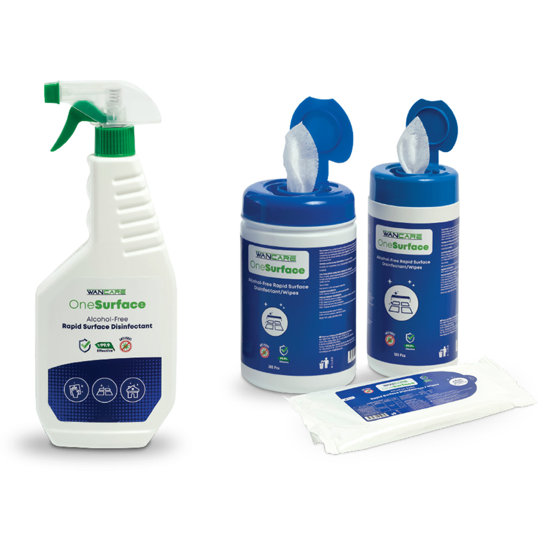 ALCOHOL-FREE RAPID SURFACE DISINFECTANT/WIPES