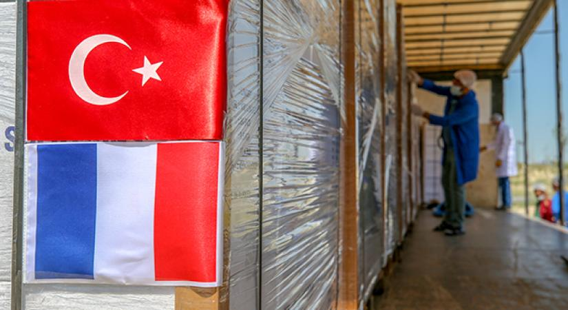 Exportation de dispositifs médicaux de Van vers la France !